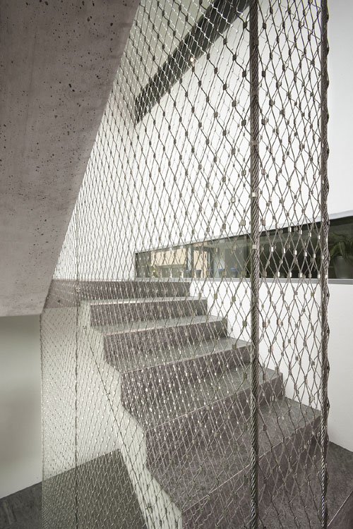 Stainless Steel Architectural Mesh Treppenhaus Tensile