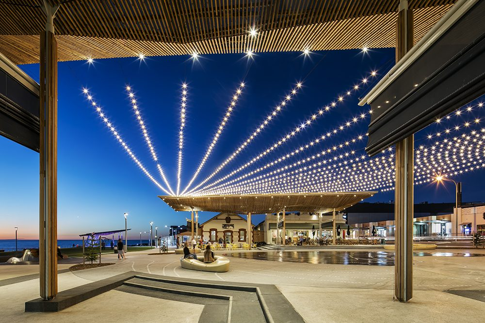 Catenary Lighting Australia Tensile Design Amp Construct