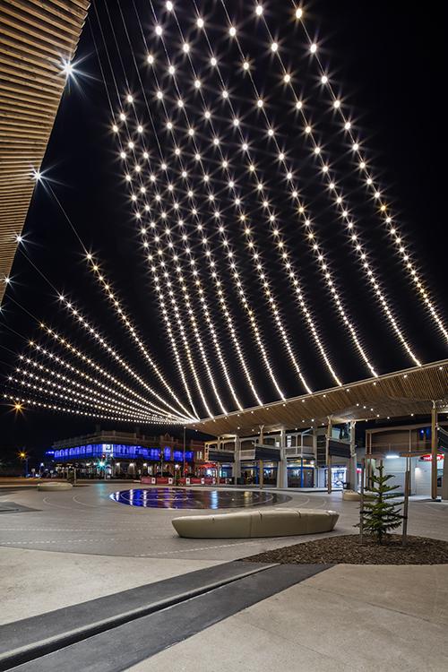 Catenary Lighting Australia Tensile Design Amp Construct
