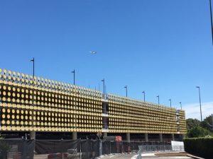 tensile facade constructions