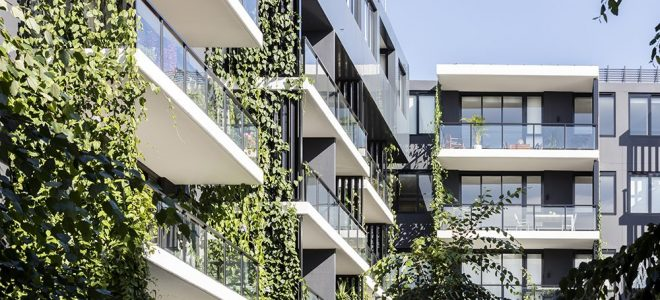 The Future of Green Facades in Australia / Tensile Design & Construct