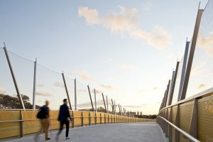 Creating Bridge Safety Systems with Visual Appeal / Tensile Design & Construct
