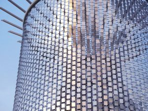 Windwave: Where Stainless Steel Wire Meets Outdoor Art / Tensile Design & Construct