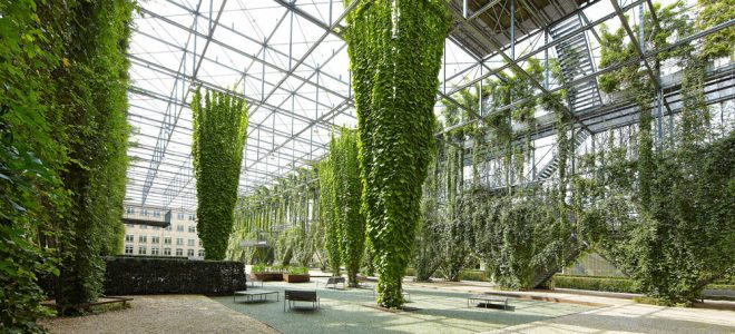 The Role of Cables and Wire Rope Systems in Green Facades / Tensile Design & Construct