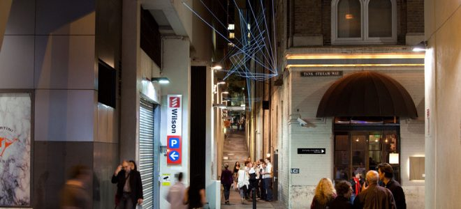 Catenary Lighting for Shopping Malls and Hospitality Hot Spots / Tensile Design & Construct