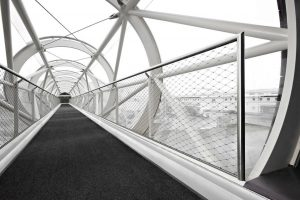 Getting Creative with Wire Mesh Panels / Tensile Design & Construct