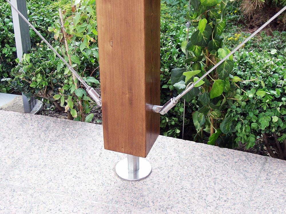 Anchoring Systems for Green Facades / Tensile Design & Construct