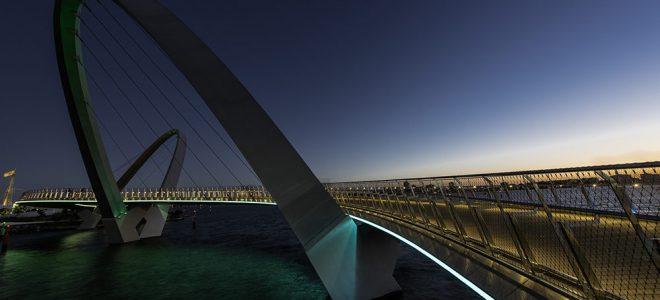 Webnet Frames for Pedestrian Bridges / Tensile Design & Construct