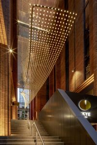 Lighting Up Outdoor Spaces with Catenary Lighting Solutions / Tensile Design & Construct