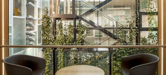3 Ways Green Infrastructure Can Enhance a Work Environment / Tensile Design & Construct