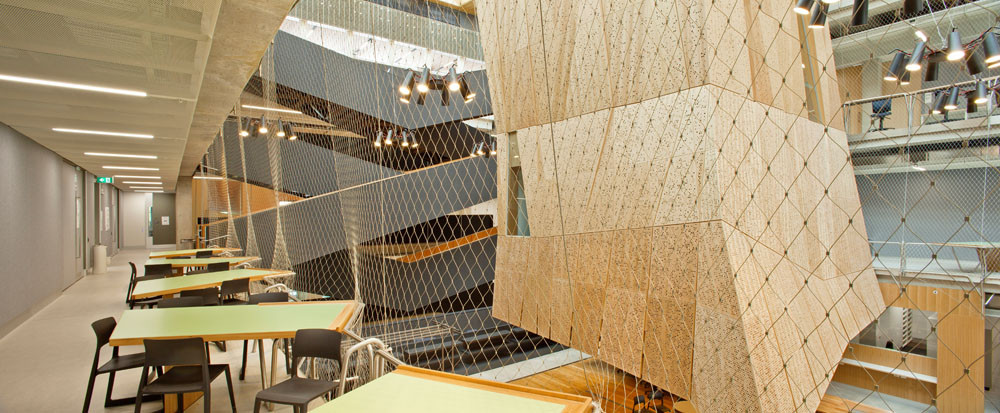 How Barriers in Vertical Schools Can Maximise Space / Tensile Design & Construct