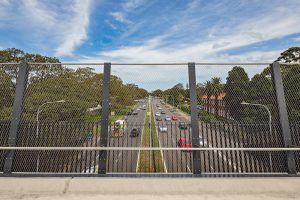 A Few Facts About Primary Structures for Webnet Mesh Barriers / Tensile Design & Construct